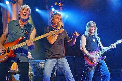 Deep Purple concert in Budapest